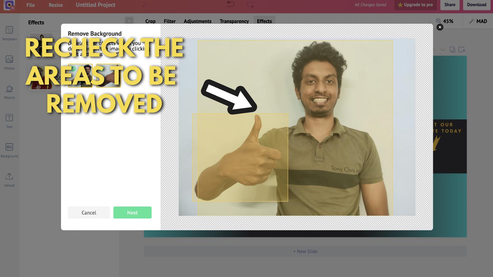 Screenshot of Picmaker's Youtube banner example blog 8