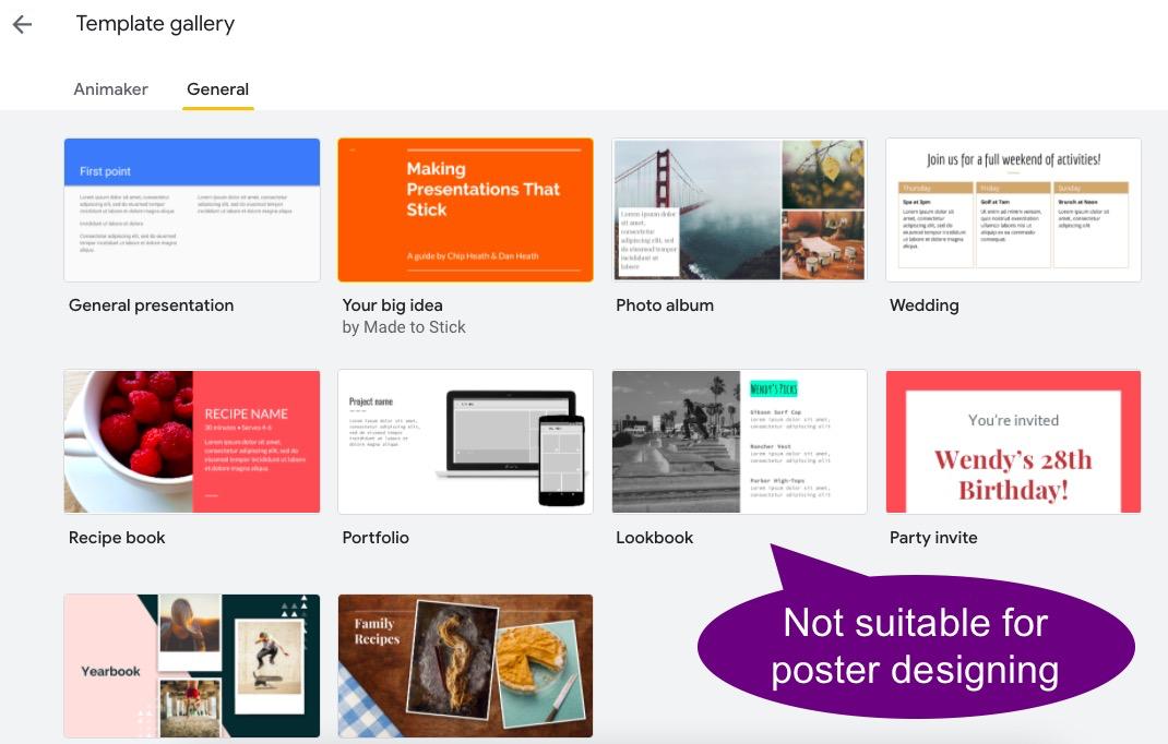 make a poster online