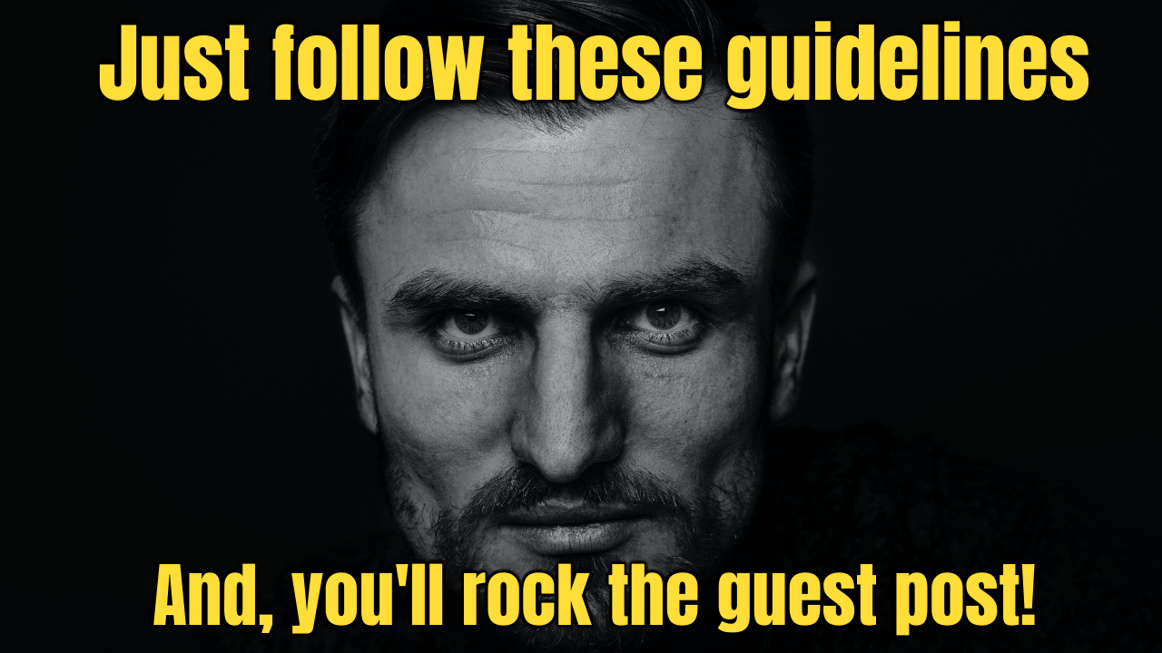 Picmaker guest post guidelines
