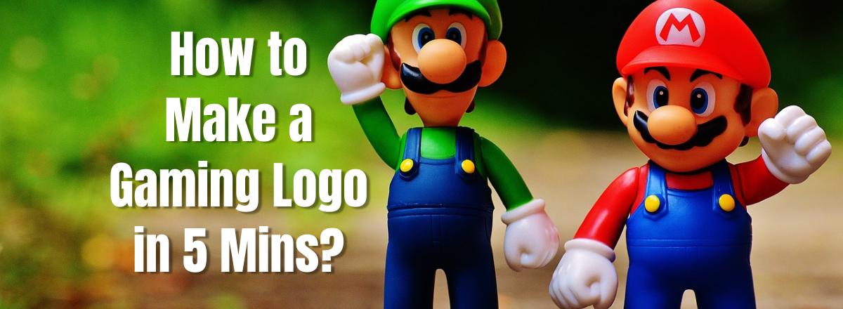 Make a gaming logo in Picmaker