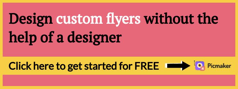 Business flyer blog CTA 4 - Picmaker