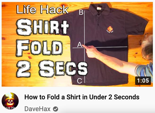 YouTube thumbnail for daily hacks
