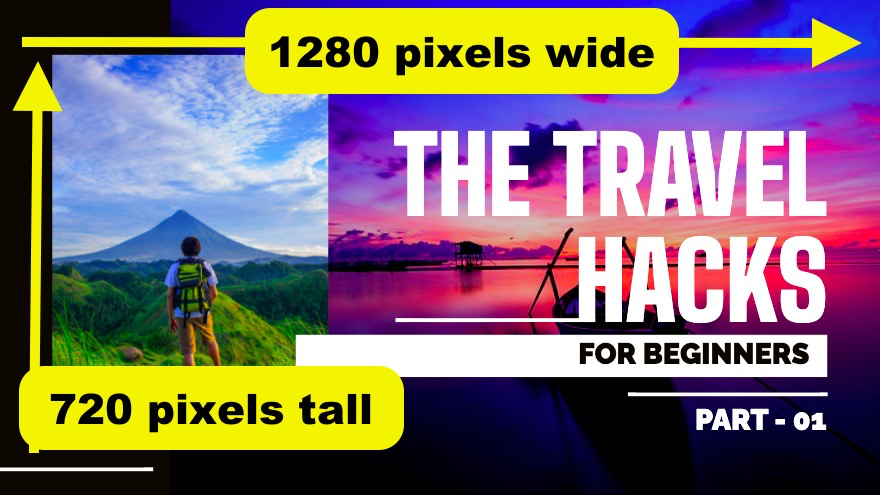 YouTube thumbnail size and resolution by Picmaker