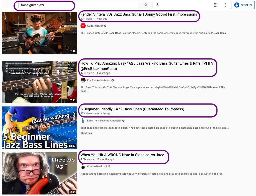 Analyze What Users Want to Find on Your YouTube Channel - youtube marketing tips by Picmaker