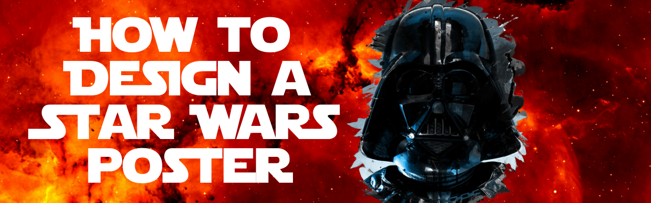 Star Wars poster heading with Picmaker