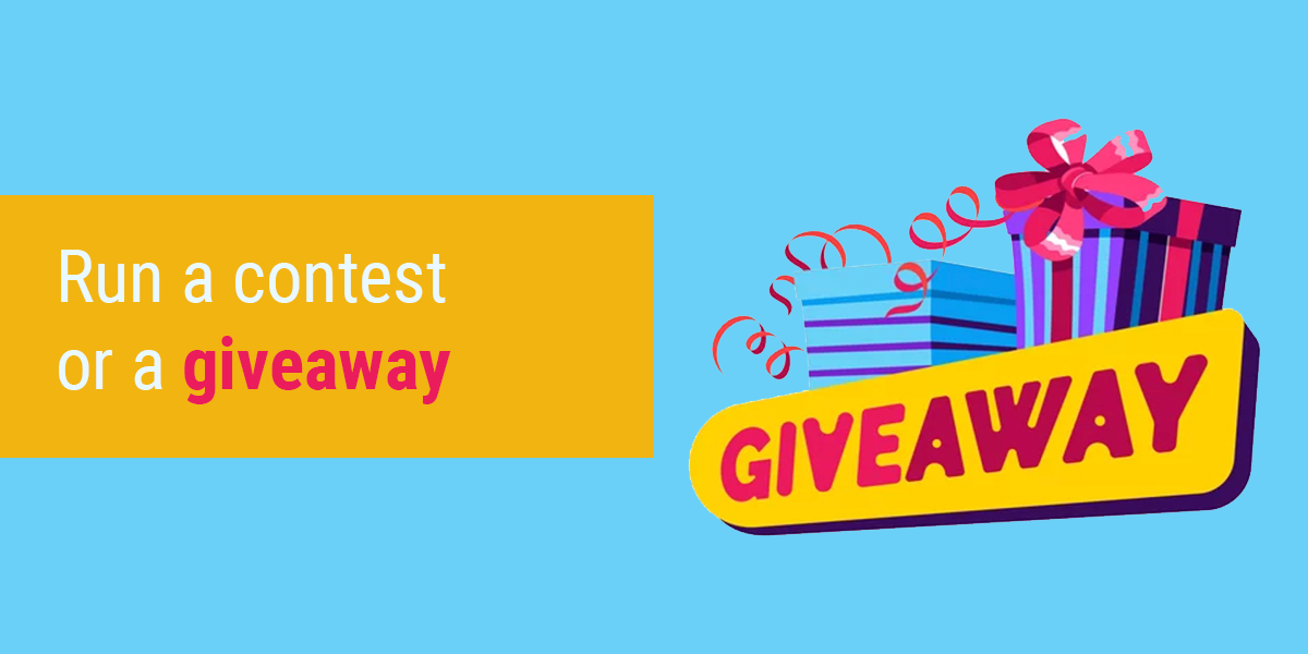 Giveaway - Best Instagram Post Ideas with images to drive huge engagements in 2021   Picmaker