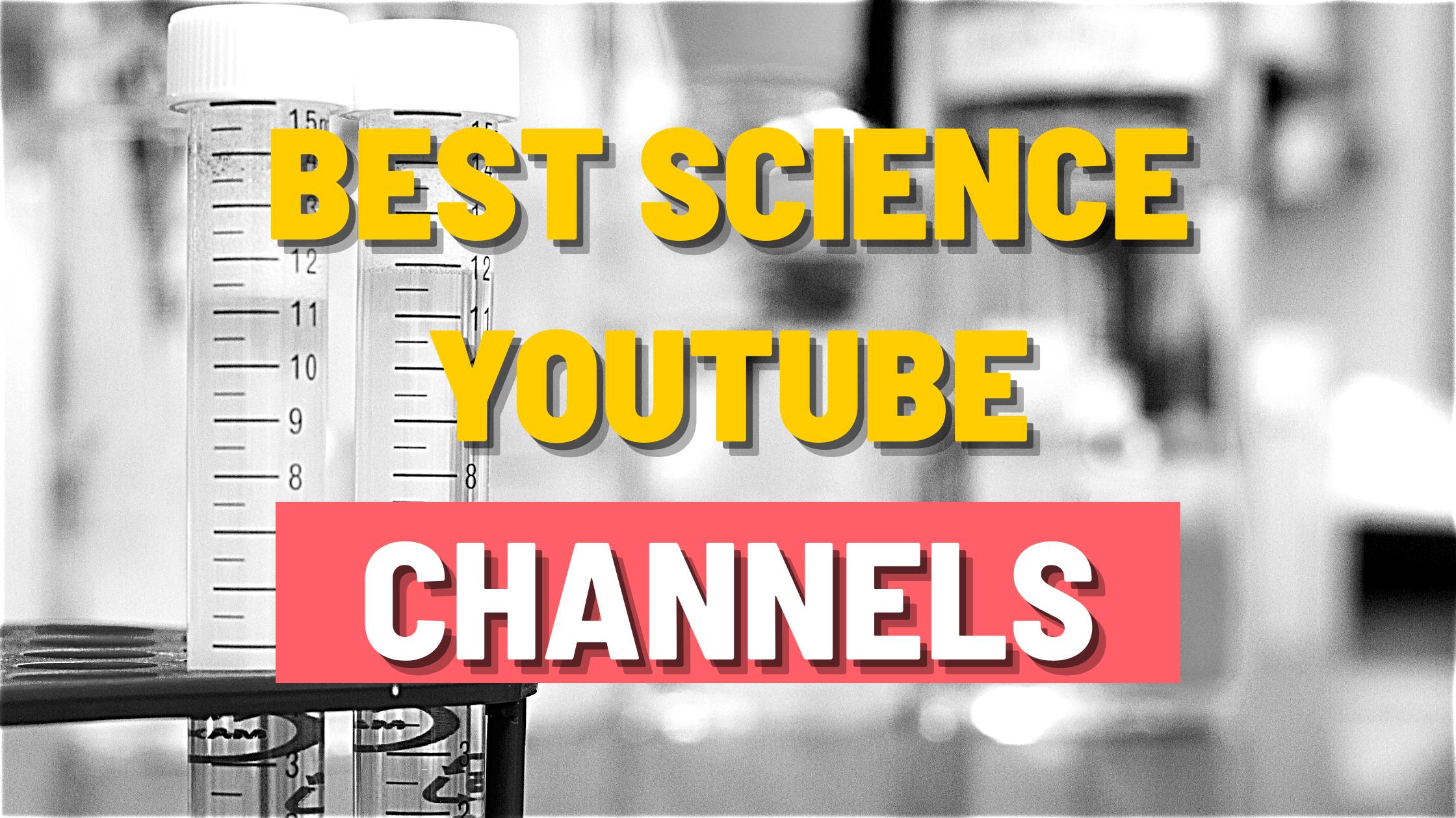 Best Science YouTube channels