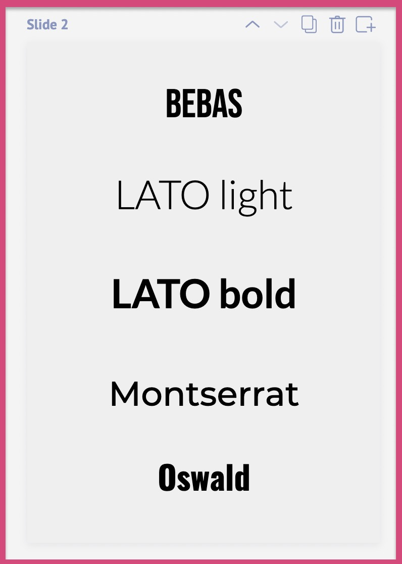 Fonts that can be used for professional or business purposes