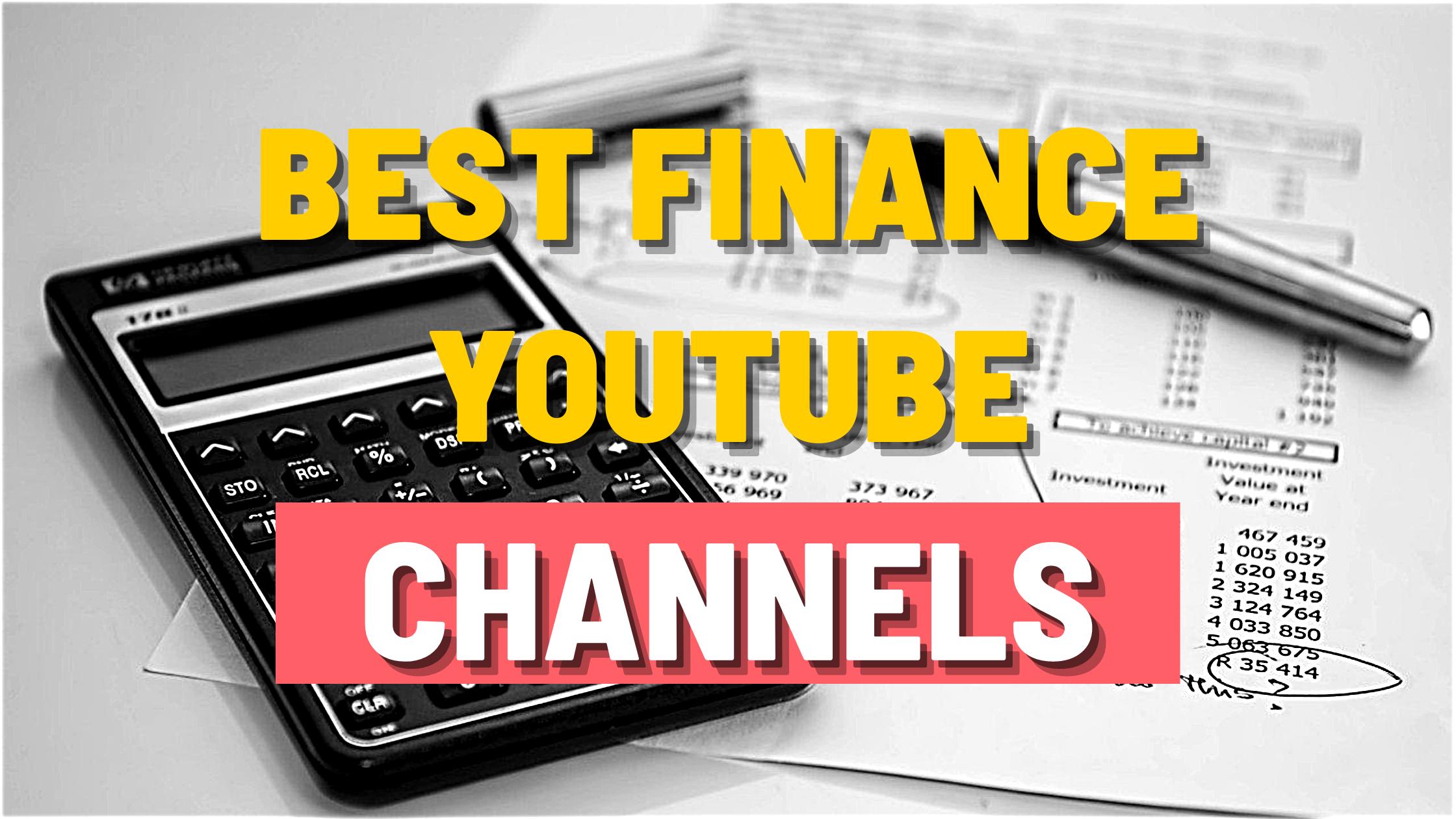 Best finance YouTube channels