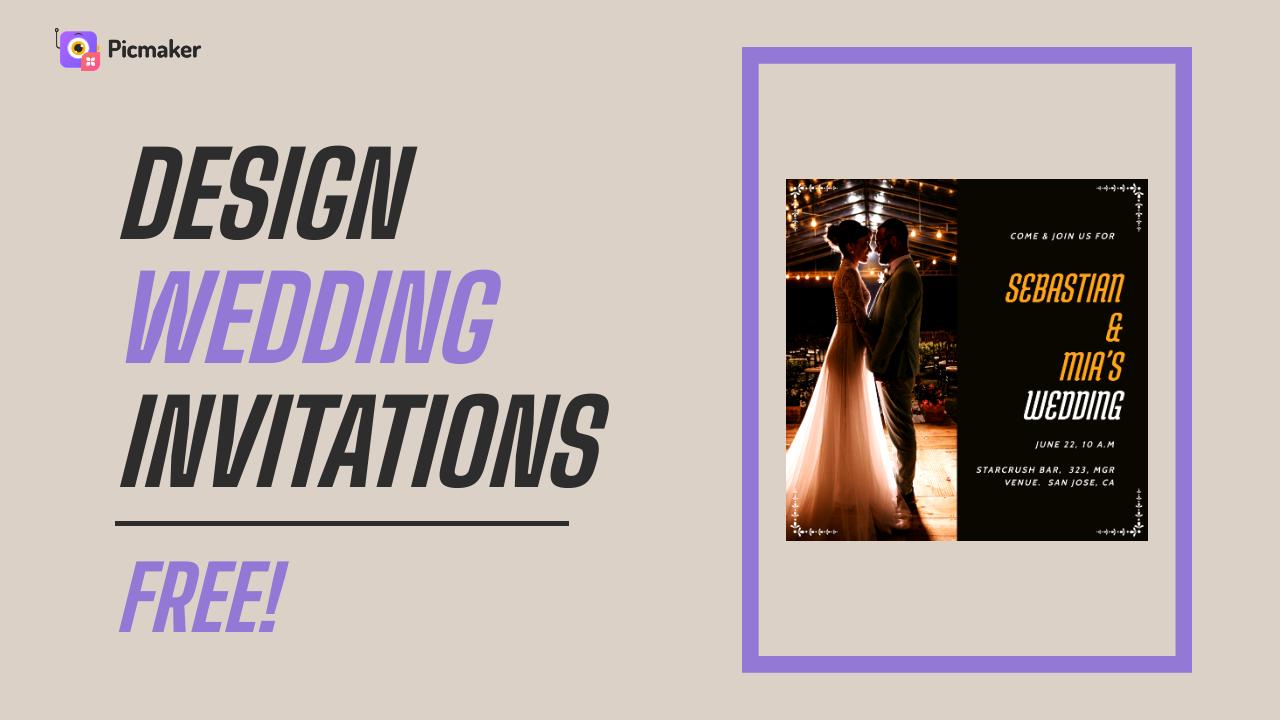 Design Wedding Invitations for Free