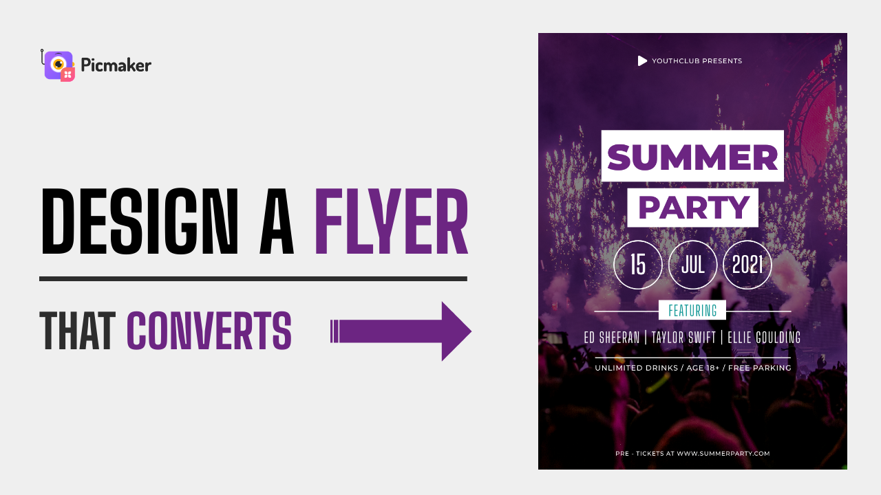 How to design a flyer that converts