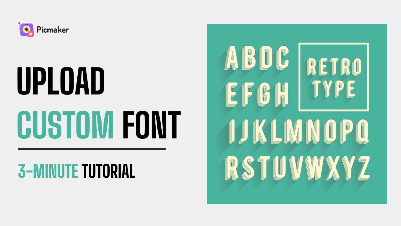 How to Upload custom font
