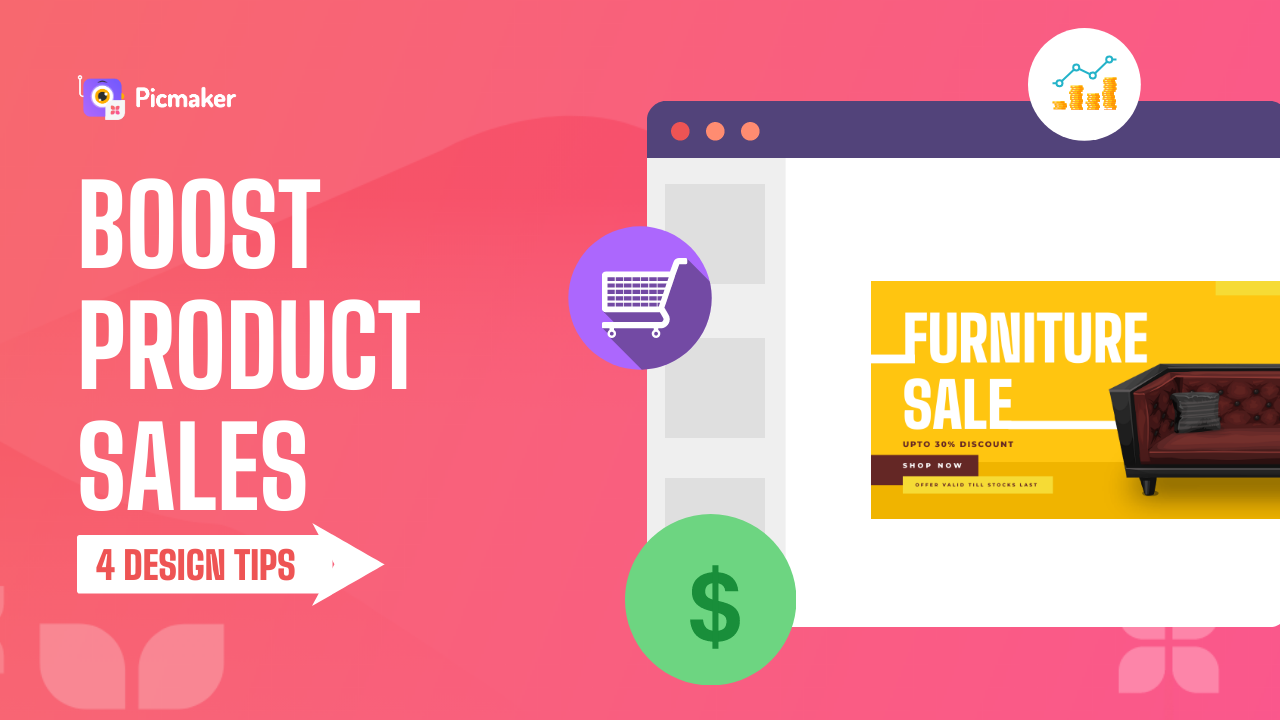 How to boost product sales with stunning design